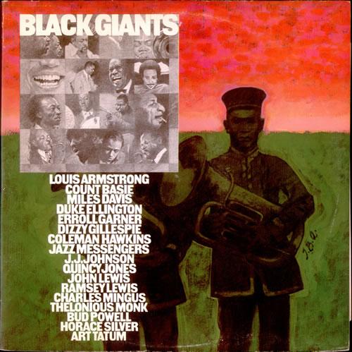 Various-Jazz Black Giants 2-LP vinyl record set (Double Album) UK V-J2LBL524244