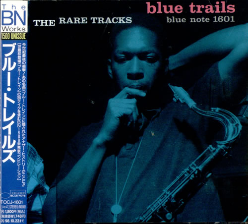 Various-Jazz Blue Trails CD album (CDLP) Japanese V-JCDBL515629