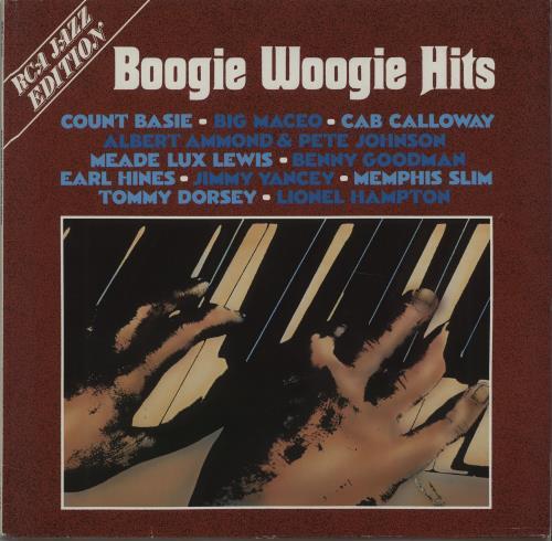Various-Jazz Boogie Woogie Hits vinyl LP album (LP record) German V-JLPBO672786