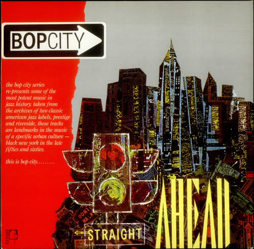 Various-Jazz Bopcity: Midnight / Straight Ahead 2-LP vinyl record set (Double Album) UK V-J2LBO541912