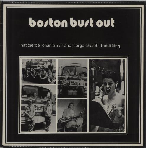 Various-Jazz Boston Bust Out vinyl LP album (LP record) UK V-JLPBO678081