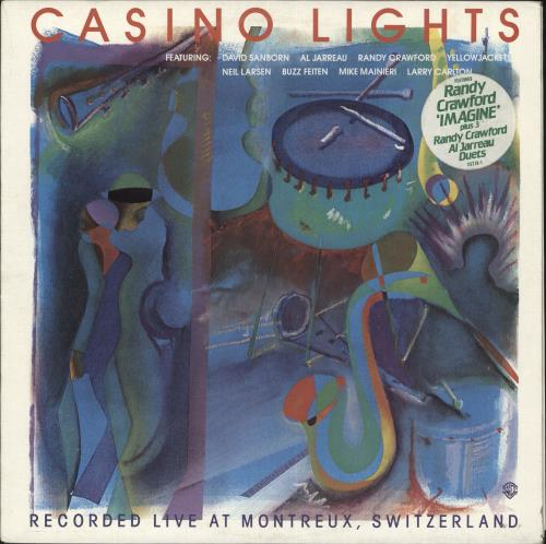Various-Jazz Casino Lights vinyl LP album (LP record) US V-JLPCA738044