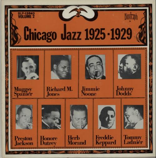 Various-Jazz Chicago Jazz 1925-1929 vinyl LP album (LP record) US V-JLPCH585331