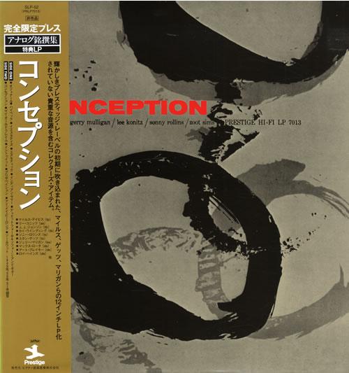 Various-Jazz Conception vinyl LP album (LP record) Japanese V-JLPCO522243