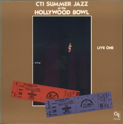 Various-Jazz CTI Summer Jazz At The Hollywood Bowl Live One vinyl LP album (LP record) Japanese V-JLPCT723502