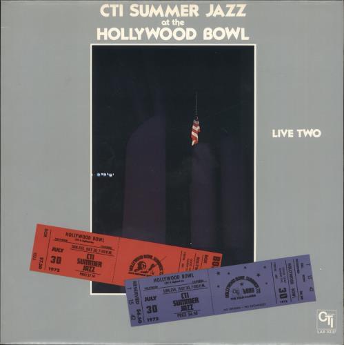 Various-Jazz CTI Summer Jazz At The Hollywood Bowl Live Two vinyl LP album (LP record) Japanese V-JLPCT723503