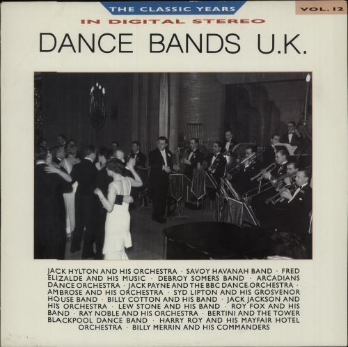 Various-Jazz Dance Bands U.K. vinyl LP album (LP record) UK V-JLPDA673191
