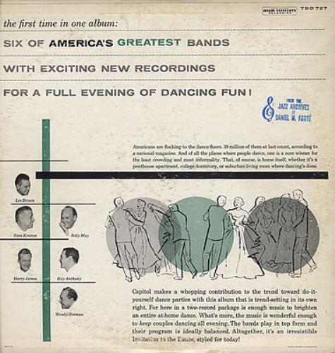 Various-Jazz Dance To The Bands! 2-LP vinyl record set (Double Album) US V-J2LDA370585