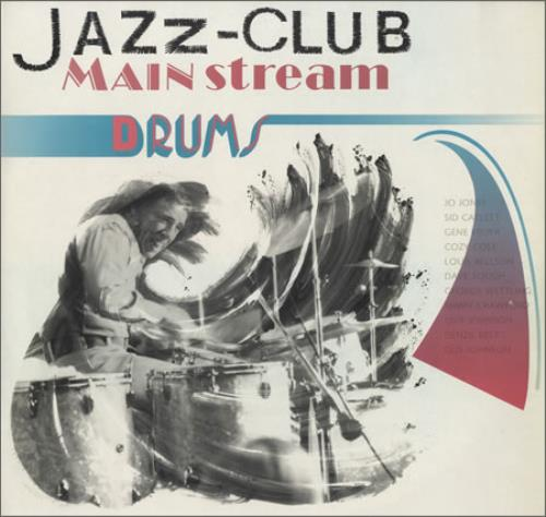 Various-Jazz Drums Dutch vinyl LP album (LP record) (403106)