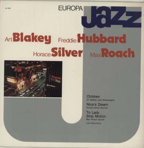 Various-Jazz Europa Jazz vinyl LP album (LP record) Italian V-JLPEU686460