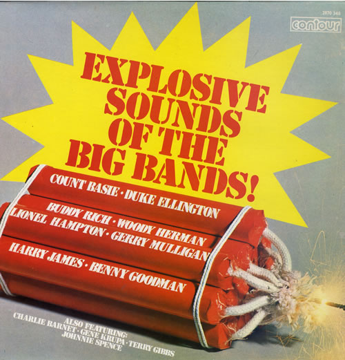 Various-Jazz Explosive Sounds Of The Big Bands vinyl LP album (LP record) UK V-JLPEX556043