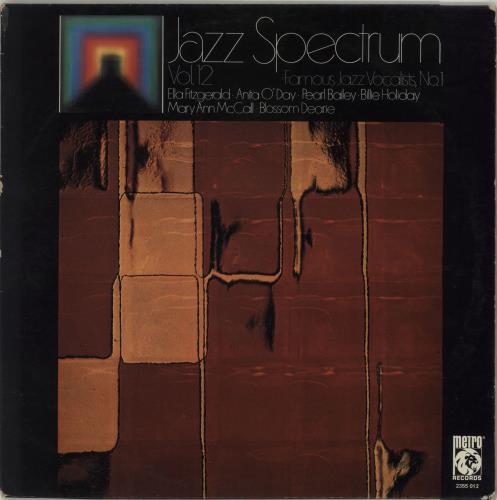 Various-Jazz Famous Jazz Vocalists, No. 1 vinyl LP album (LP record) German V-JLPFA682789