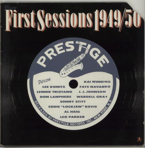 Various-Jazz First Sessions 1949/50 2-LP vinyl record set (Double Album) US V-J2LFI675008