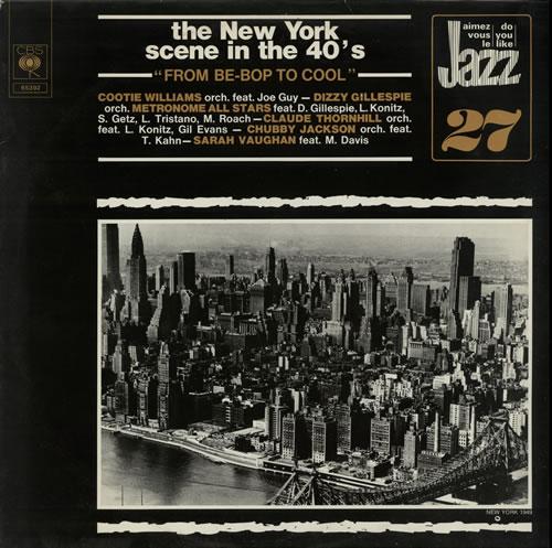 Various-Jazz From Be-Bop To Cool vinyl LP album (LP record) Dutch V-JLPFR584658