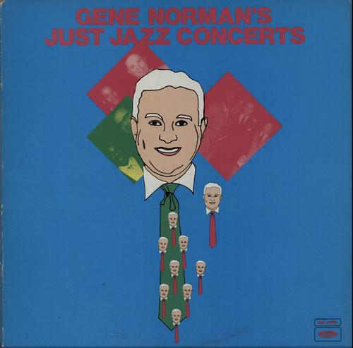Various-Jazz Gene Norman's Jazz Concerts 3-LP vinyl record set (Triple Album) UK V-J3LGE584714