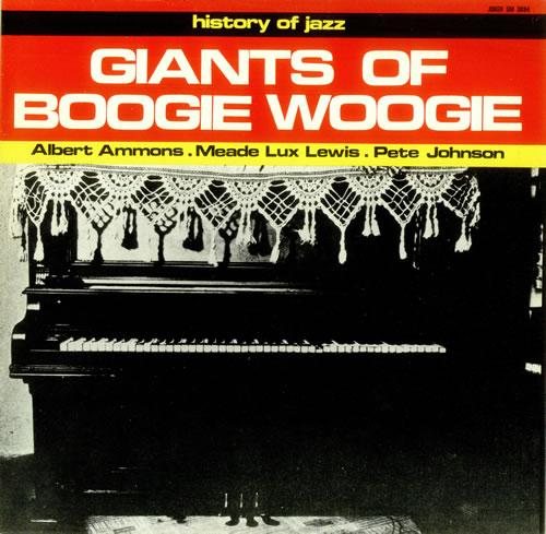 Various-Jazz Giants Of Boogie Woogie vinyl LP album (LP record) Italian V-JLPGI449996