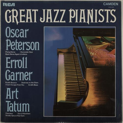 Various-Jazz Great Jazz Pianists vinyl LP album (LP record) UK V-JLPGR687764
