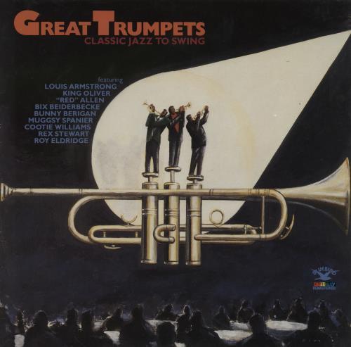 Various-Jazz Great Trumpets (Classic Jazz To Swing) vinyl LP album (LP record) German V-JLPGR761461