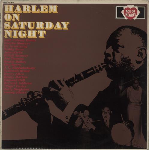 Various-Jazz Harlem On Saturday Night vinyl LP album (LP record) UK V-JLPHA605129