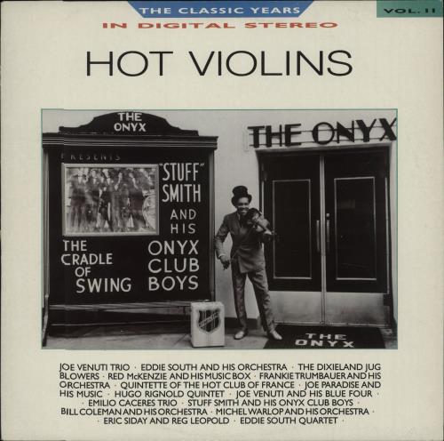 Various-Jazz Hot Violins vinyl LP album (LP record) UK V-JLPHO673409