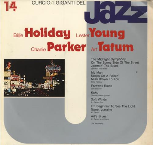Various-Jazz I Giganti Del Jazz #14 vinyl LP album (LP record) Italian V-JLPIG403165