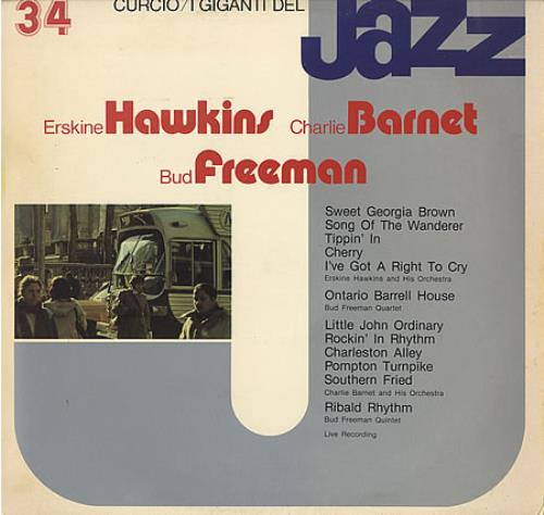 Various-Jazz I Giganti Del Jazz #34 vinyl LP album (LP record) Italian V-JLPIG403228