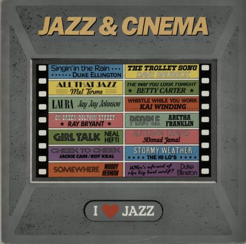 Various-Jazz Jazz & Cinema vinyl LP album (LP record) Dutch V-JLPJA586056