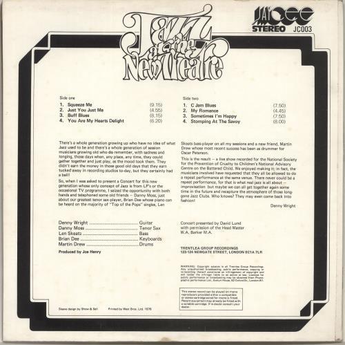 Various-Jazz Jazz At The New Theatre vinyl LP album (LP record) UK V-JLPJA701960