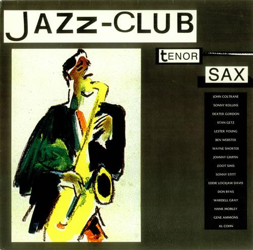 Various-Jazz Jazz Club - Tenor Sax vinyl LP album (LP record) German V-JLPJA449296