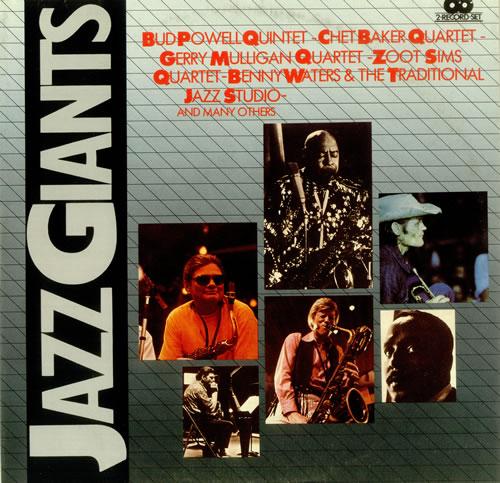 Various-Jazz Jazz Giants 2-LP vinyl record set (Double Album) Italian V-J2LJA449031