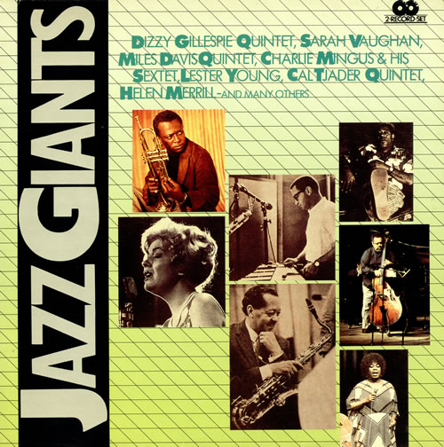 Various-Jazz Jazz Giants 2-LP vinyl record set (Double Album) Italian V-J2LJA470708
