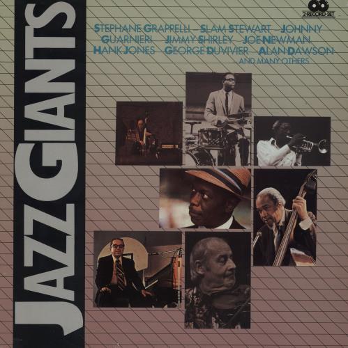 Various-Jazz Jazz Giants 2-LP vinyl record set (Double Album) Italian V-J2LJA761449