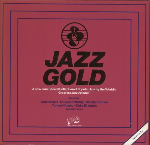 Various-Jazz Jazz Gold Vinyl Box Set UK V-JVXJA478296