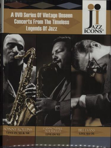 Various-Jazz Jazz Icons: Series 3 Box Set DVD US V-JDDJA669910