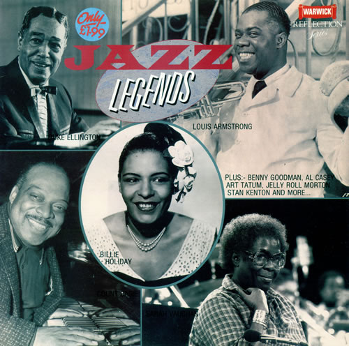 Various-Jazz Jazz Legends vinyl LP album (LP record) UK V-JLPJA482766