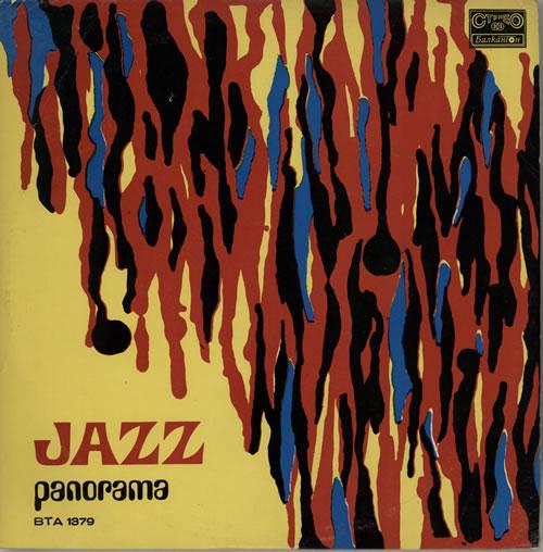 Various-Jazz Jazz Panorama vinyl LP album (LP record) Bulgarian V-JLPJA582780