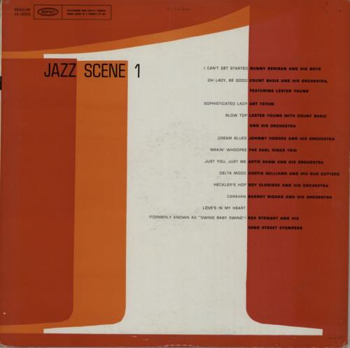 Various-Jazz Jazz Scene 1 vinyl LP album (LP record) US V-JLPJA590568