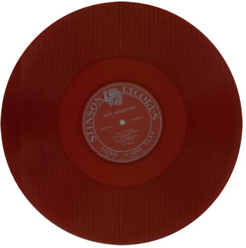 Various-Jazz Jazz Variations Volume 2 - Red Vinyl vinyl LP album (LP record) US V-JLPJA585717