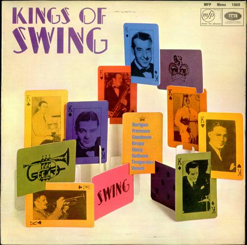 Various-Jazz Kings Of Swing vinyl LP album (LP record) UK V-JLPKI448713