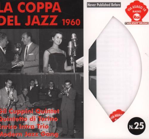 Various-Jazz La Copa Del Jazz 1960 CD album (CDLP) Italian V-JCDLA670687