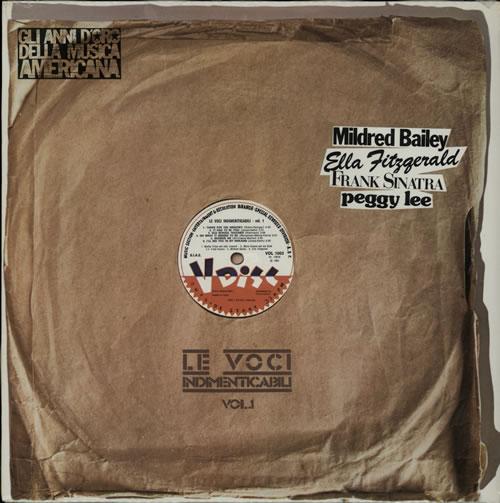 Various-Jazz Le Voci Indimenticabili Vol.1 - Sealed vinyl LP album (LP record) Italian V-JLPLE580401