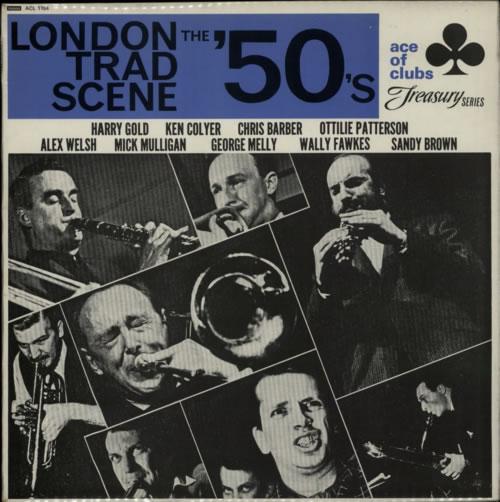 Various-Jazz London Trad Scene - The '50's vinyl LP album (LP record) UK V-JLPLO603685