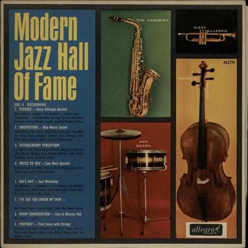 Various-Jazz Modern Jazz Hall Of Fame vinyl LP album (LP record) UK V-JLPMO586248