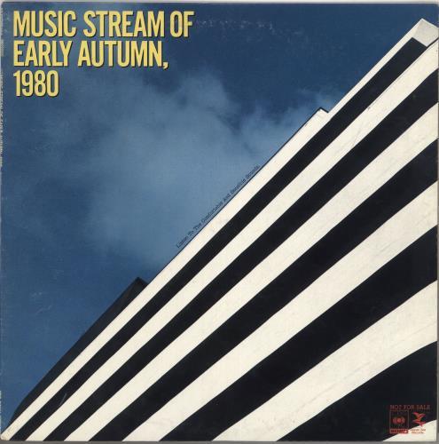 Various-Jazz Music Stream Of Early Autumn, 1980 vinyl LP album (LP record) Japanese V-JLPMU736078
