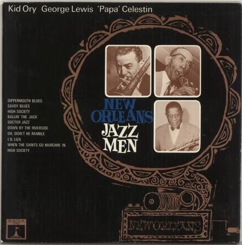 Various-Jazz New Orleans Jazzmen vinyl LP album (LP record) UK V-JLPNE695044