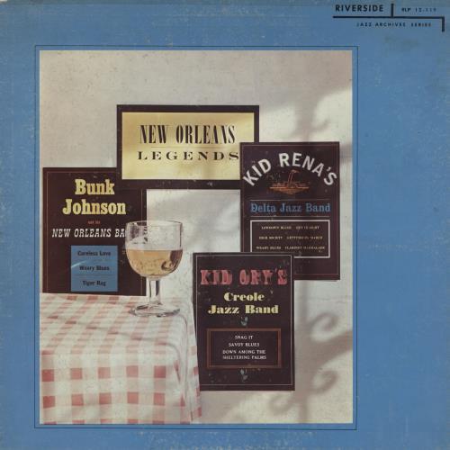 Various-Jazz New Orleans Legends - 2nd vinyl LP album (LP record) UK V-JLPNE761452