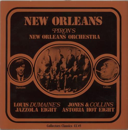 Various-Jazz New Orleans vinyl LP album (LP record) Danish V-JLPNE675390