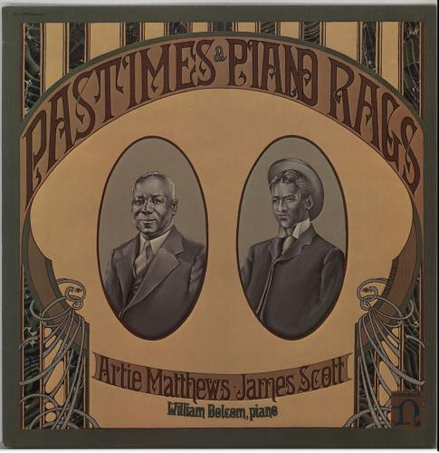 Various-Jazz Pastimes & Piano Rags vinyl LP album (LP record) UK V-JLPPA643282