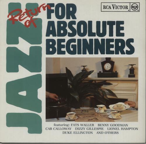 Various-Jazz Return Of Jazz: For Absolute Beginners vinyl LP album (LP record) German V-JLPRE672864