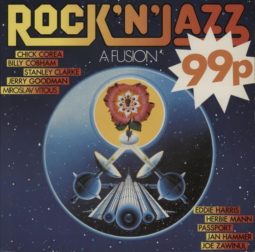 Various-Jazz Rock 'N' Jazz - A Fusion vinyl LP album (LP record) UK V-JLPRO750435